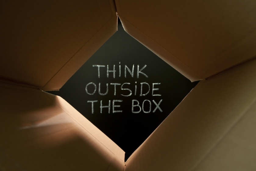 think-outside-box_shutterstock_81177457